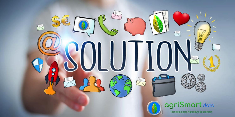 Nuestras soluciones para agricultura de precisión - AgriSmart data
